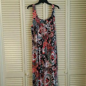 Glamour Plus Maxi Dress